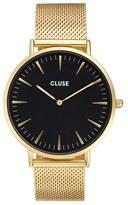 Cluse Women's 'La Boheme' Mesh Strap Watch, 38Mm