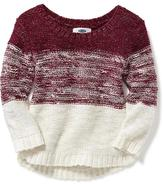 Old Navy Hi-Lo Ombre Sweater-Knit Tunic for Toddler