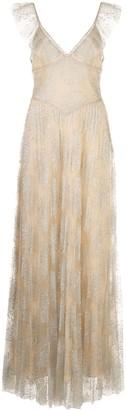 Fleur Du Mal Pleated Tulle gown