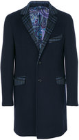 Etro single breasted coat - men - Cashmere/Wool - 48