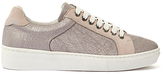 Mint Velvet Willow Lace Up Trainers, Rose Gold