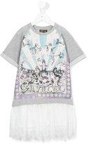 Roberto Cavalli circus print sweatshirt dress