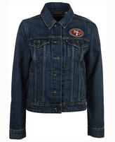 Levi's Women's San Francisco 49ers Denim Trucker Jacket