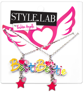 Fashion Angels Yellow & Silvertone 'Besties' Pendant Necklace Set
