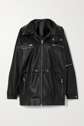 GmbH Vegan Leather Jacket - Black