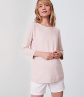LOFT Maternity Textured Sweatshirt
