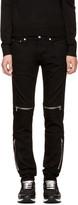 Givenchy Black Rico Biker Jeans