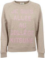 Kitsune je Suis Allée Sweatshirt
