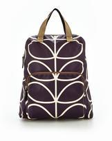 Orla Kiely Linear Stem Backpack Tote Bag
