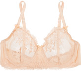 Mimi Holliday Every Yours lace-trimmed silk-blend bra