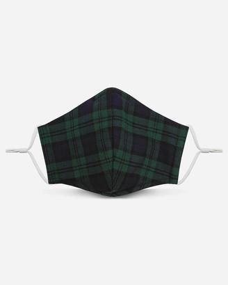 Express Pocket Square Clothing Plaid Unity Face Mask