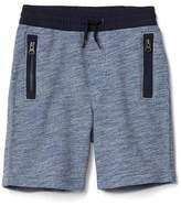 Gap Marled zip shorts
