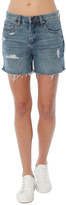 Blank NYC Distressed Boyfriend Short