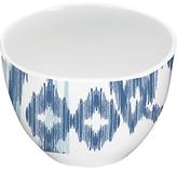 Eddingtons Mistral Melamine Dipping Bowl, Kyoto Blue Ikat