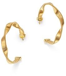 Marco Bicego 18K Yellow Gold Marrakech Twisted Hoop Earrings