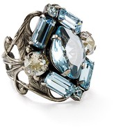 Sorrelli Swarovski Crystal Cluster Cocktail Ring - 100% Exclusive