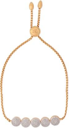 Monica Vinader 18-karat Gold-plated Sterling Silver Diamond Bracelet