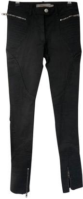 Preen Black Cotton Trousers for Women