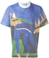 Sunnei paint print T-shirt