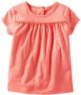 Osh Kosh Toddler Girl Pom-Pom Tee