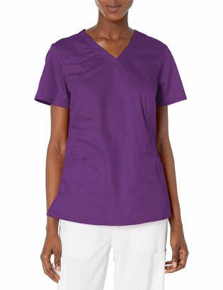 Cherokee Women's Workwear Core Stretch V-Neck Top