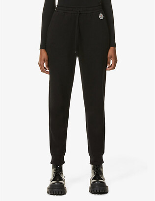 Moncler Pantalone branded mid-rise cotton-blend jogging bottoms