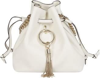 Jimmy Choo Callie Drawstring Bucket Bag