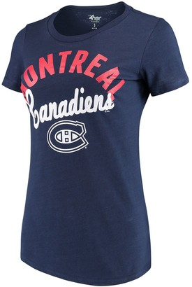 Tailgate G Iii Women's G-III 4Her by Carl Banks Navy Montreal Canadiens T-Shirt