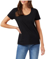 French Connection Classic Scoop Neck Tee