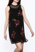 Gentle Fawn Black Layered Dress