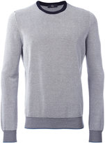 Fay knitted crew neck jumper