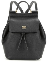 Dolce & Gabbana Sicily Leather Backpack