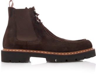 Bally Lyons Suede Chelsea Boots