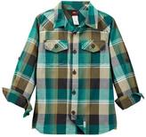 Tea Collection Cobija Plaid Shirt (Toddler, Little Boys, & Big Boys)