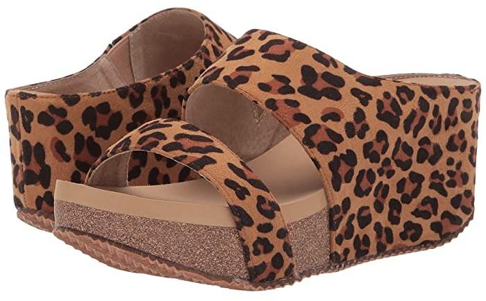 Volatile Chic (Tan/Leopard) Women's