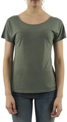 Vero Moda Shimmer Top - extra small | linen | green | Silver Shimmer - Blue/Green/Green