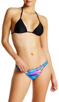 Luli Fama Cielito Lindo Knotted Side Bikini Bottom