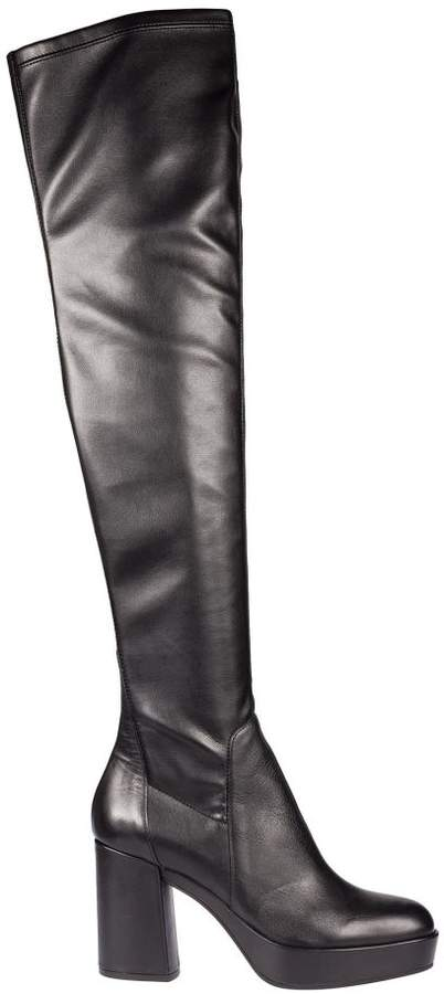 Janet & Janet Slip-on Over The Knee Boots