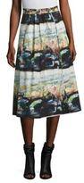 Burberry Kinsale Printed Skirt
