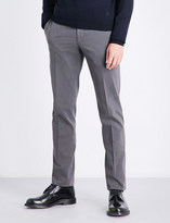 SLOWEAR Slim-fit stretch-cotton chinos