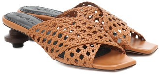 Souliers Martinez Levante leather sandals