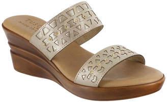 Easy Street Shoes Womens Rosalie Wedge Sandals
