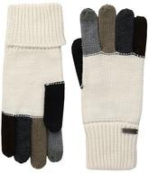 Steve Madden Color Block Boyfriend Gloves