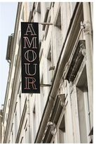 Pottery Barn Montmartre-Amour Framed Print by Rebecca Plotnick