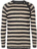 AllSaints Bateau Crew Sweater