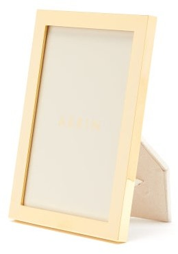 AERIN Martin Small Gold-plated Photo Frame - Gold