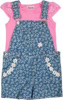 Little Lass Shortall and Tee Set - Toddler Girls 2t-4t