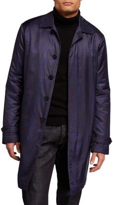Etro Men's Paisley Raincoat