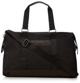 Jeff Banks Black Textured Holdall Bag