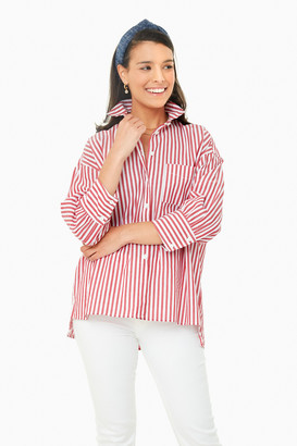 Pomander Place Rainbow Adair Boyfriend Shirt